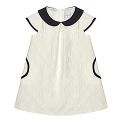 J by Jasper Conran - Baby girls' large dotted print dress