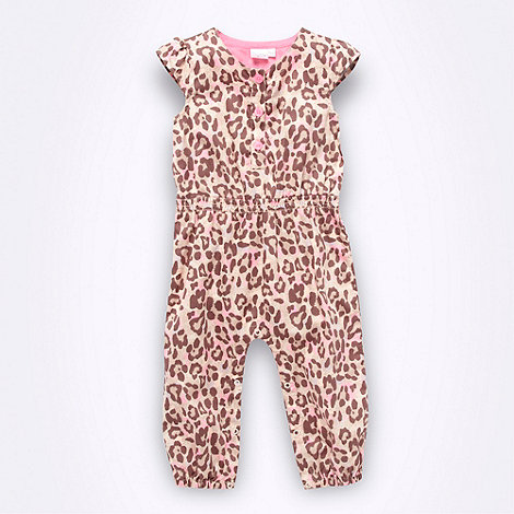 Star by Julien Macdonald - Designer Babies pink animal romper suit