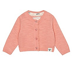Mantaray - Baby girls' light pink cardigan