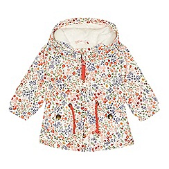Mantaray - Baby girls' multi-coloured floral print jacket