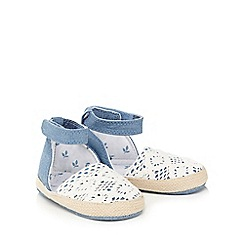 Mantaray - Baby girls' blue ankle strap sandals