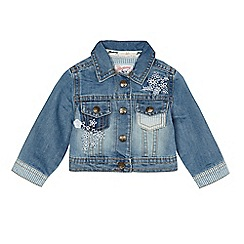 Mantaray - Baby girls' blue denim jacket