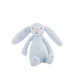 Jelly Cat - Babies blue bunny rattle