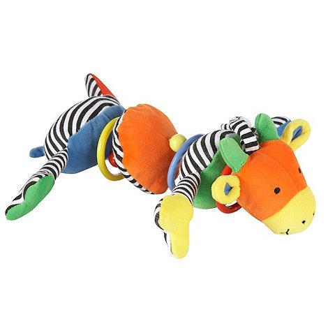 Jelly Cat - Babies wobbling hooped giraffe toy