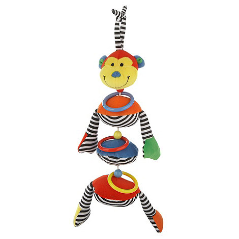 Jelly Kitten - Hoop Loop Wobble Monkey toy