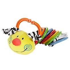 Jelly Kitten - Babies 'Clicketty clatterpillar' toy