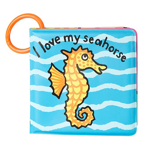 Jelly Kitten - Babies seahorse bath time hook