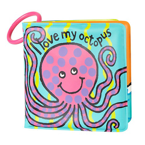 Jellycat - Babies octopus bath time book