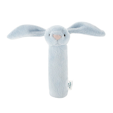 Jellycat - Pale blue bunny squeaker toy