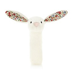 Jelly Kitten - Babies cream floral rabbit squeaker
