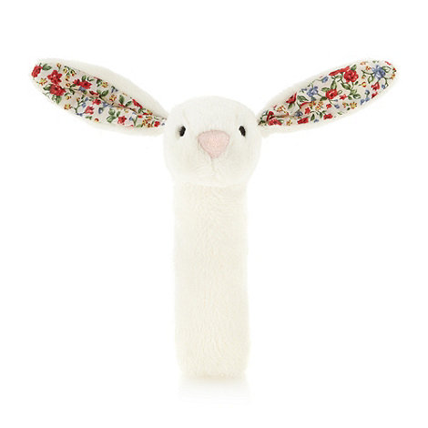 Jelly Kitten - Babies cream floral rabbit squeaker