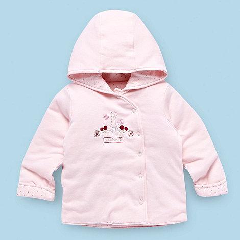 J by Jasper Conran - Designer Babies pale pink spotted jacket