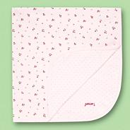 Designer Babies pink berry patterned blanket