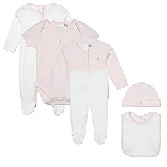 J by Jasper Conran - Designer babies pink six piece set