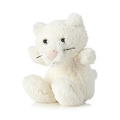 Jelly Kitten - Children's cream mini plush kitten