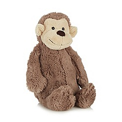 Jelly Cat - Brown plush monkey toy