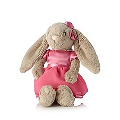 Jelly Cat - Babies plush pink ballerina bunny