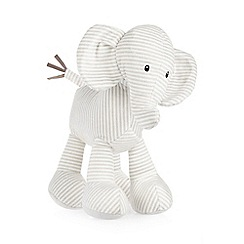 Jelly Kitten - Children's grey striped elephant toy