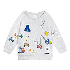 bluezoo - Baby boys' grey jumper