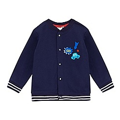 bluezoo - Baby boys' navy applique sweater