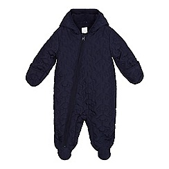 bluezoo - Baby boys' stitched car snowsuit