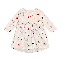 bluezoo - Baby girls' light pink printed dress