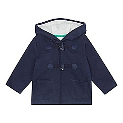 J by Jasper Conran - Baby boys' navy fleece lined jacket