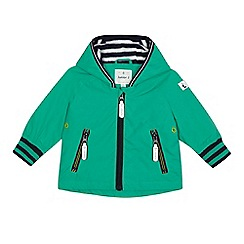 J by Jasper Conran - Baby boy's green hooded jacket
