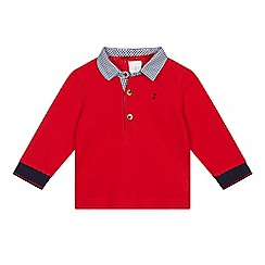J by Jasper Conran - Baby boys' red polo top
