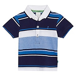 J by Jasper Conran - Baby boys' blue striped polo shirt