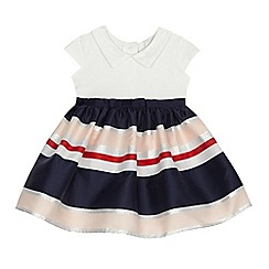 J by Jasper Conran - Baby girls' multi-coloured striped dress