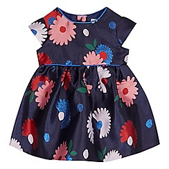 J by Jasper Conran - Baby girls' navy floral dress