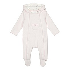 J by Jasper Conran - Baby girls' fleece all in one