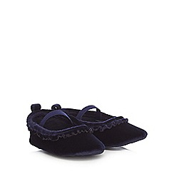 J by Jasper Conran - Baby girls' navy pumps