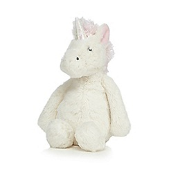 Jellycat - Off white 'Bashful Unicorn' toy