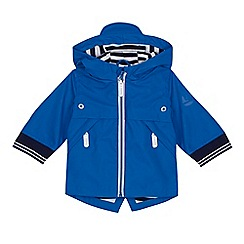 J by Jasper Conran - Baby boys' blue rubberised coat