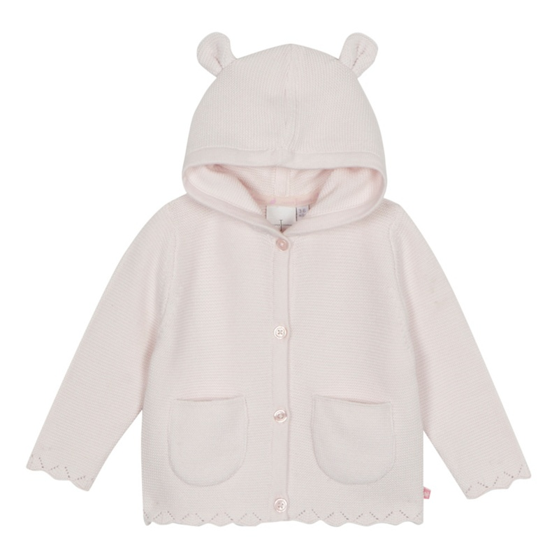 7dcc7f60cd07 J by Jasper Conran - Baby Girls  Pale Pink Long Sleeve Cardigan ...