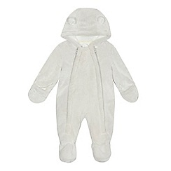 J by Jasper Conran - Babies light grey all-in-one