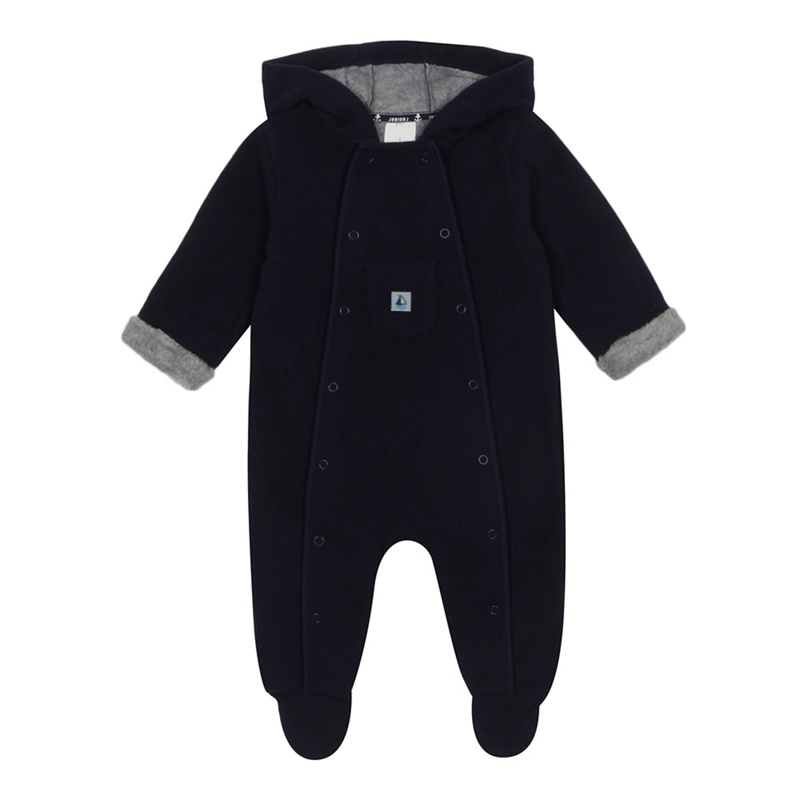 485f20a9e J by Jasper Conran -  Baby Boys  Navy Fleece All In One - £24.00 ...