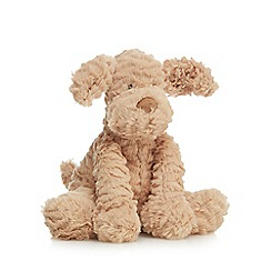 Jellycat - Beige 'Fuddlewuddle' puppy soft toy