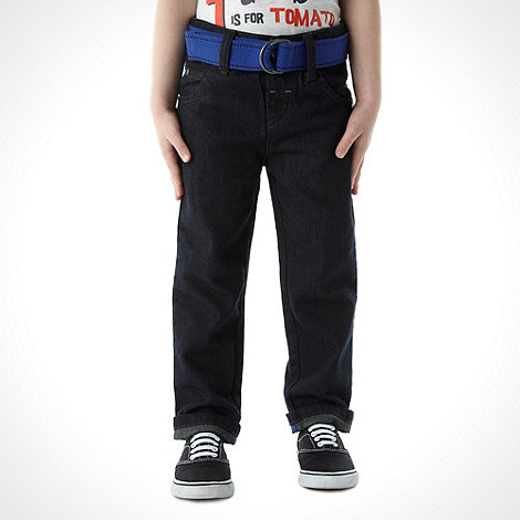 bluezoo - Boy+s blue belted jeans