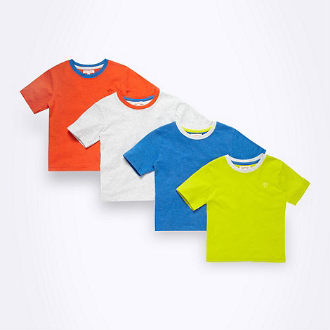 bluezoo - Boy+s pack of four multi tops