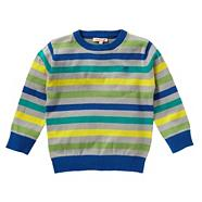 Boy's multi striped knitted sweater