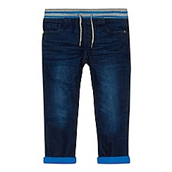 bluezoo - Boys' blue jersey lined slim jeans