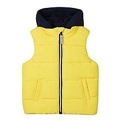 bluezoo - Boys' yellow padded gilet