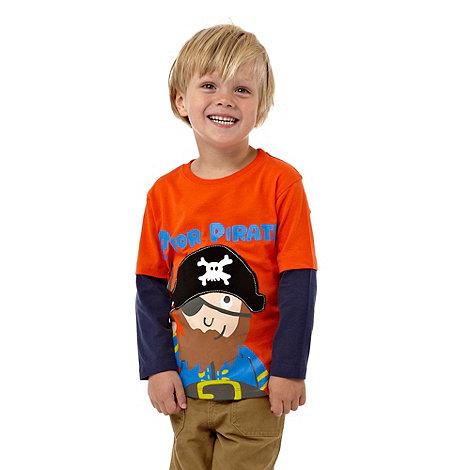 bluezoo - Boy+s multi pirate t-shirt