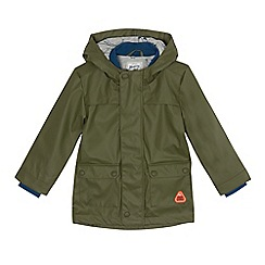 Mantaray - Boys' multi-coloured rubber raincoat