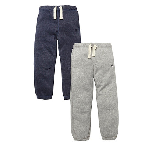 bluezoo - Boy+s set of two grey jogging bottoms