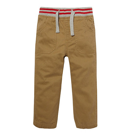 bluezoo - Boy+s brown ribbed waistband trousers