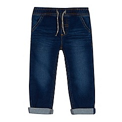 bluezoo - Boys' blue denim jogging bottoms